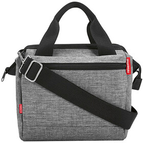 KlickFix Roomy E Handlebar Bag, twist silver
